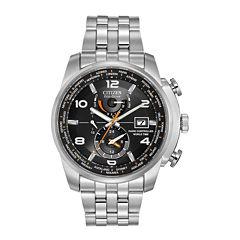Citizen Mens Silver Tone Bracelet Watch-At9010-52e