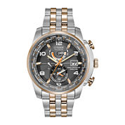 Citizen® Eco-Drive® World Time A-T Mens Two-Tone Watch  AT9016-56H