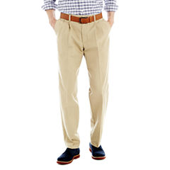 Lee® Total Freedom Classic Fit Pleated Pants