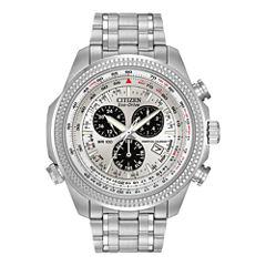 Citizen® Eco-Drive® Mens Alarm Chronograph Watch BL5400-52A
