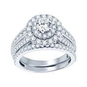 2 CT. T.W. Diamond Bridal Set