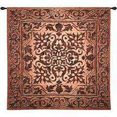 Iron Work Wall Tapestry