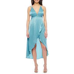 Renn Sleeveless Wrap Dress