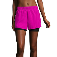 Xersion Perforated 2fer Run Short