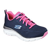 Skechers® Fashion Fit Womens Lace-Up Sneakers