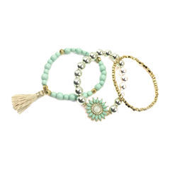 Mixit Womens Stretch Bracelet