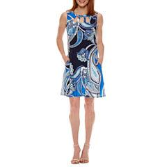 Alyx Sleeveless Paisley Shift Dress