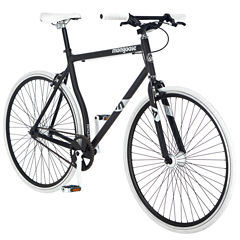 Mongoose Detain 700c Mens Fixie Road Bike