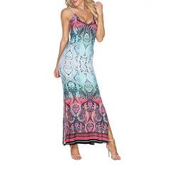 White Mark Nila Sleeveless Maxi Dress