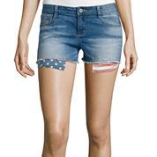 Arizona Print Pocket Denim Shorts