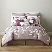 Home Expressions™ Melise 10-pc. Comforter Set & Accessories