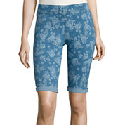 i jeans by Buffalo Print Bermuda Shorts