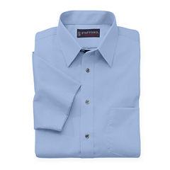 Stafford® Travel Short-Sleeve Performance Super Shirt - Big & Tall