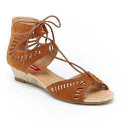 Union Bay Camille Womens Wedge Sandals