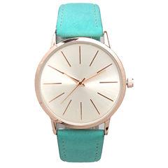 Olivia Pratt Womens Blue Strap Watch-16243