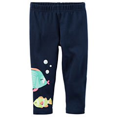 Carter's Animal Jersey Leggings - Baby Girls