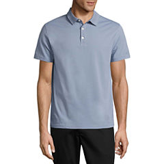 Claiborne® Short-Sleeve Slim-Fit Polo