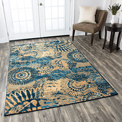 Rizzy Home Bellevue Medallion Rectangular Runner