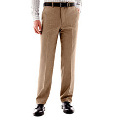 JF J. Ferrar® End on End Flat Front Suit Pants - Classic Fit