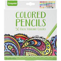 Crayola 50-pc. Colored Pencil Set