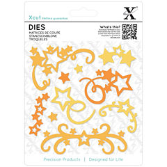docrafts 11-pc. Star Flourish Dies