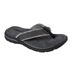 Skechers® Bosnia Mens Thong Sandals
