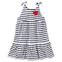 Oshkosh Sleeveless Babydoll Dress - Toddler Girls