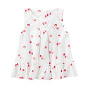 Oshkosh Sleeveless T-Shirt-Toddler Girls