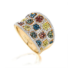 LIMITED QUANTITIES Le Vian Grand Sample Sale Exotics Multicolor Diamond Ring