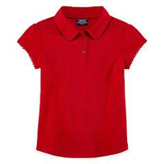 Izod Exclusive Short Sleeve Polo Shirt - Preschool Girls