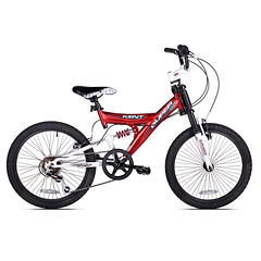 Kent 20in Super 20 Boys Dual Suspension Bike