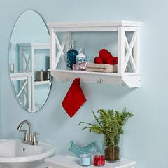 Riverridge Home 1-Shelf Bathroom Shelf