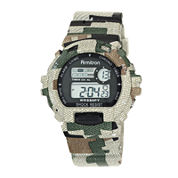 Armitron® Mens Camouflage Chronograph Digital Sport Watch 40/8216MILJ