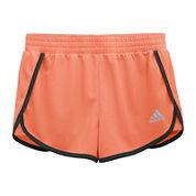 adidas® Screen-Printed Shorts - Girls 7-16