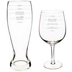Cathy's Concepts 2-pc. Xl Beer and Wine Glass Set