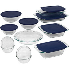 Pyrex® 19-pc. Set Easy-Grab Bakeware Set