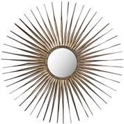 Shanira Starburst Round Wall Mirror