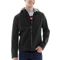 Levi's® Soft Shell Jacket with Jersey Hood
