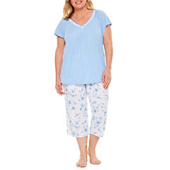 Adonna Capri Pajama Set-Plus