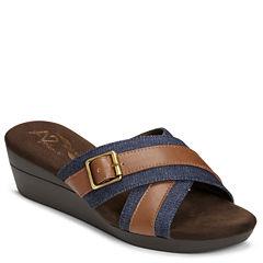 A2 by Aerosoles Florist Womens Wedge Sandals