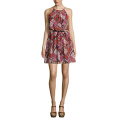 by&by Sleeveless A-Line Dress-Juniors