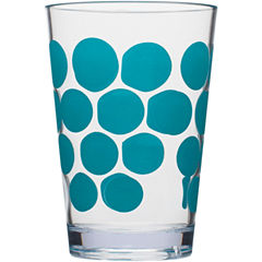 Zak Designs® Dot Set of 6 7-oz. Juice Glasses