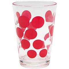 Zak Designs® Dot Set of 6 7-oz. Juice Glasses
