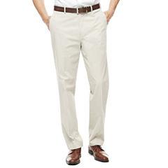 Savane® Executive Flex Flat-Front Pants