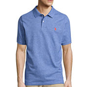 U.S. Polo Assn.® Short-Sleeve Heather Pique Polo