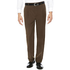 Stafford® Pleated Classic-Fit Pants