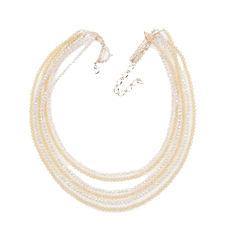 Vieste Rosa Brass Beaded Necklace