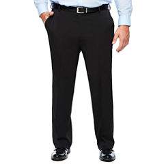 Van Heusen Flat Front Pants-Big and Tall