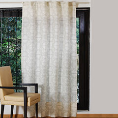 Textrade Moroccan Tab-Top Curtain Panel