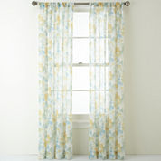 JCPenney Home™ Bettina Rod-Pocket Sheer Panel